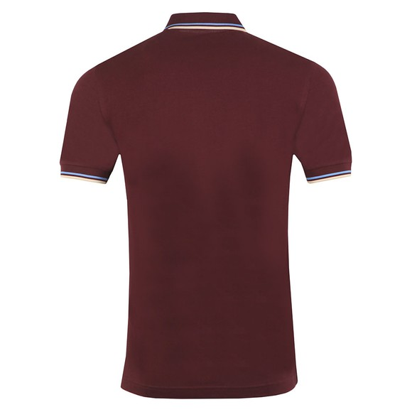 Fred Perry Mens Brown Twin Tipped Polo Shirt main image