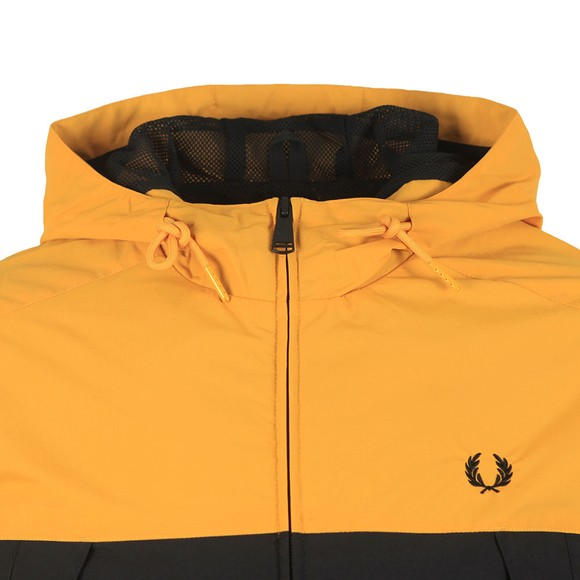 Fred Perry Mens Gold Colour Block Panel Jacket main image