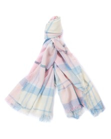 Barbour Lifestyle Womens Pink Freya Wrap Scarf