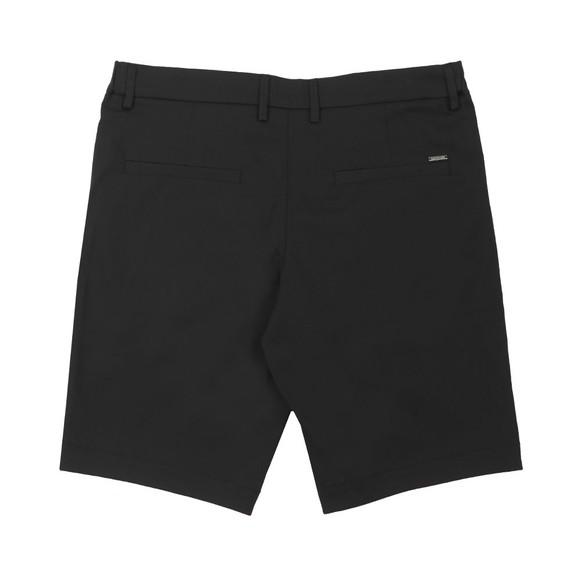 BOSS Mens Black Athleisure Liem 4 Comfort Cotton Chino Short