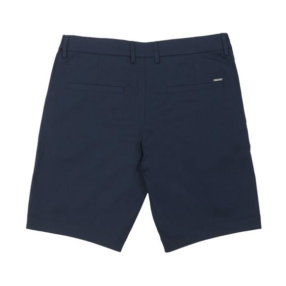 BOSS Mens Blue Athleisure Liem 4 Comfort Cotton Chino Short
