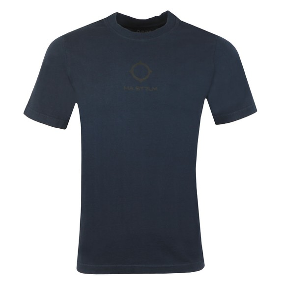 Ma.Strum Mens Blue GD Logo T Shirt