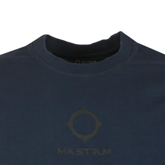 Ma.Strum Mens Blue GD Logo T Shirt