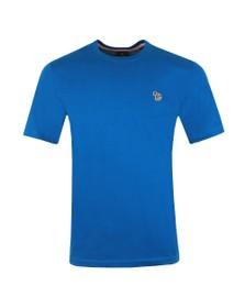 PS Paul Smith Mens Blue Zebra T-Shirt