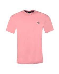 PS Paul Smith Mens Pink Zebra T-Shirt