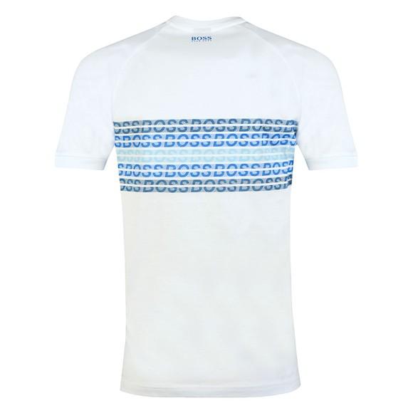 BOSS Mens White Athleisure Teera Logo T-Shirt main image