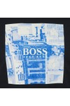 BOSS Mens Blue Casual Troaar 5 T Shirt
