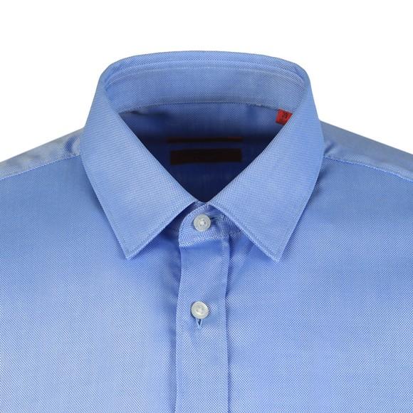 HUGO Mens Blue Elisha 02 Extra Slim Shirt