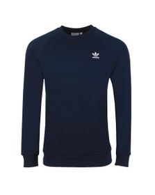 adidas Originals Mens Blue Essential Crew Neck Sweatshirt
