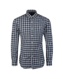 Polo Ralph Lauren Mens Green Custom Fit Check Shirt