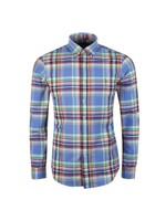 Slim Fit Multi Check Shirt