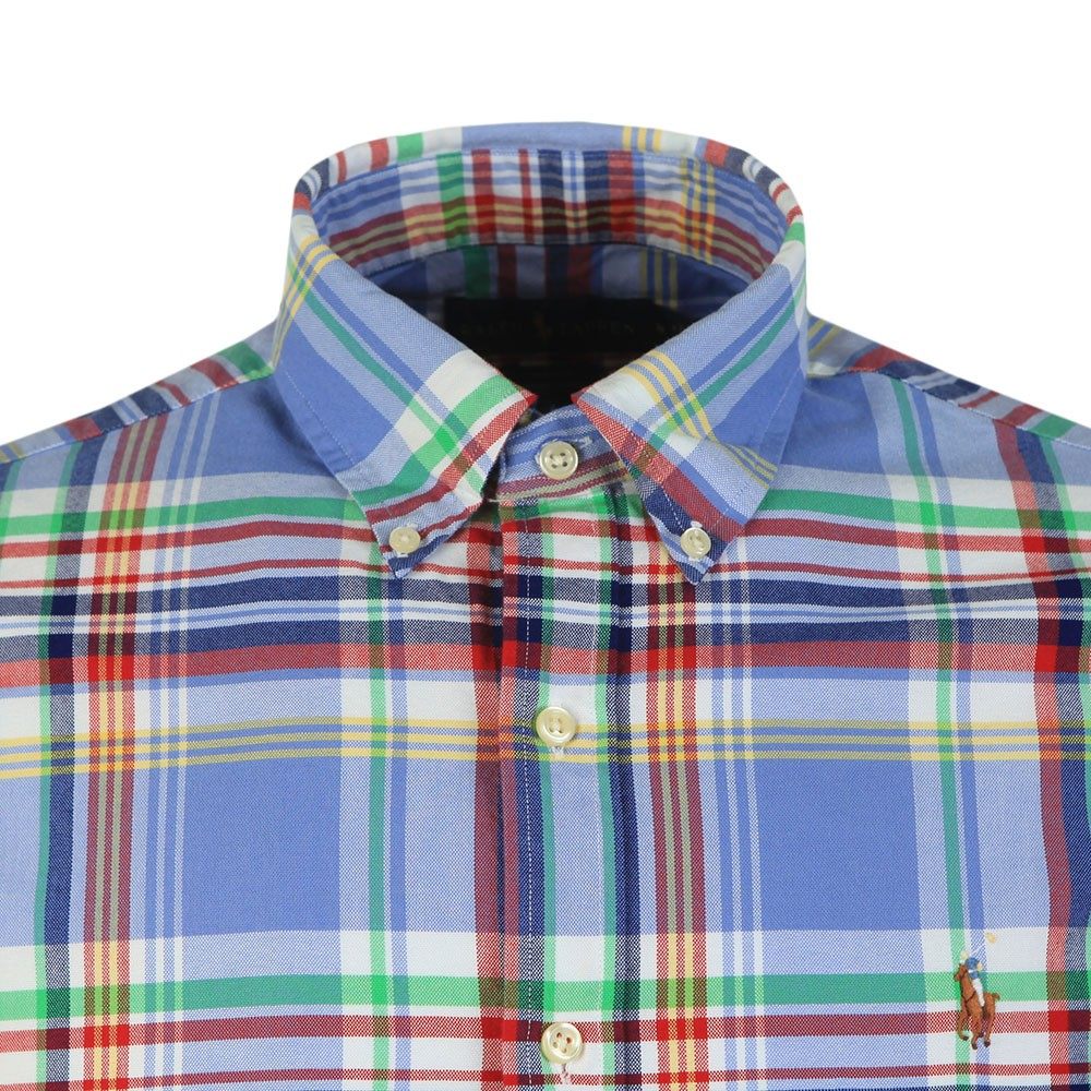 Slim Fit Multi Check Shirt main image