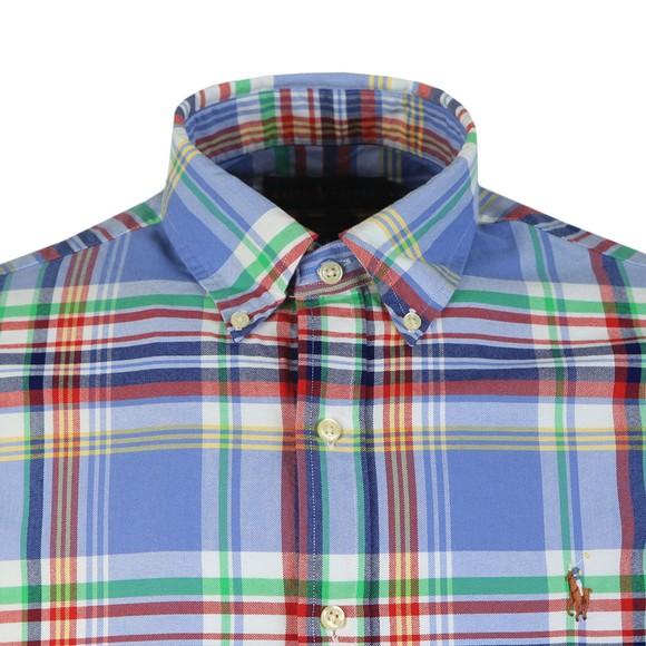 Polo Ralph Lauren Mens Multicoloured Slim Fit Multi Check Shirt main image
