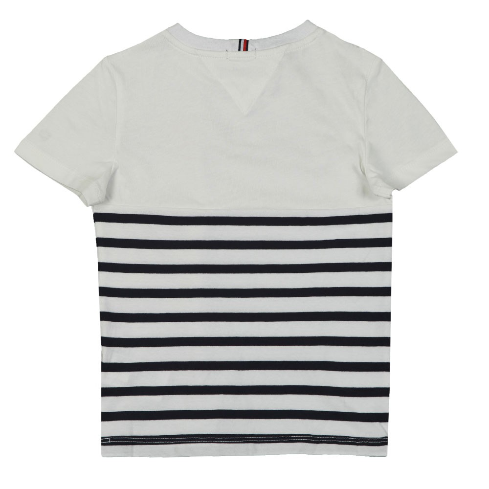 Mixed Artwork Stripe T-Shirt main image