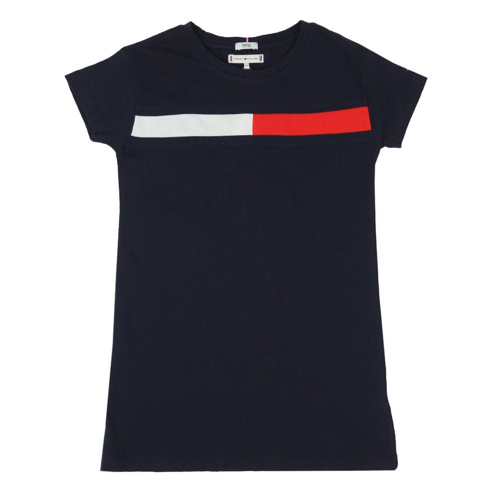 Flag Jersey Dress Short Sleeve main image