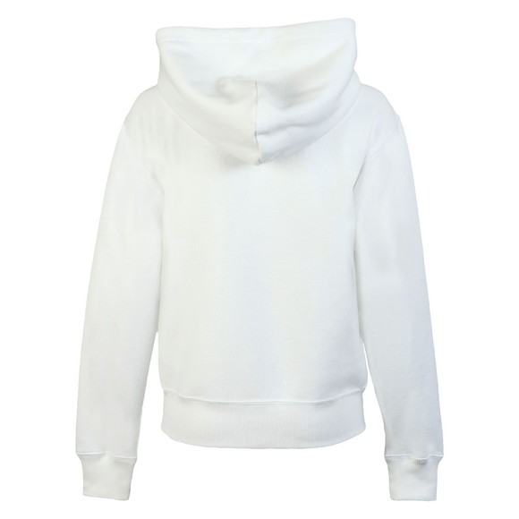 Polo Ralph Lauren Womens White Full Zip Hooded Sweat main image