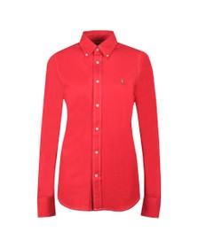 Polo Ralph Lauren Womens Pink Heidi Long Sleeve Shirt