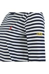 Polo Ralph Lauren Womens Blue Long Sleeve Striped T-Shirt