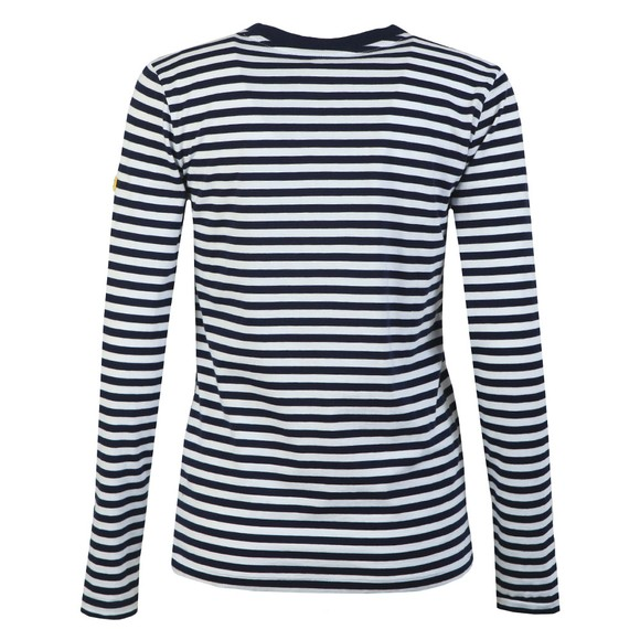 Polo Ralph Lauren Womens Blue Long Sleeve Striped T-Shirt main image