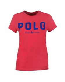 Polo Ralph Lauren Womens Pink Large Polo  Short Sleeve T-Shirt