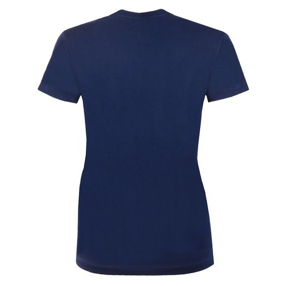 Polo Ralph Lauren Womens Blue Large Polo  Short Sleeve T-Shirt main image