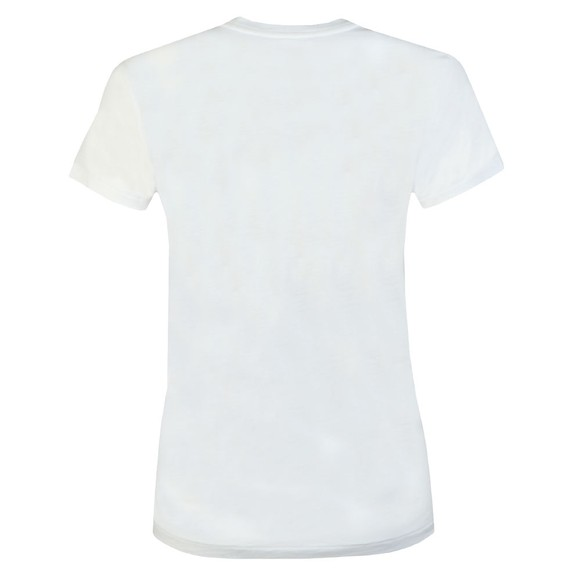Polo Ralph Lauren Womens White Large Polo  Short Sleeve T-Shirt main image