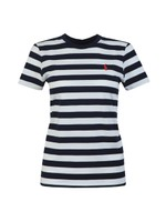 Thick Striped Short Sleeve T-Shirt