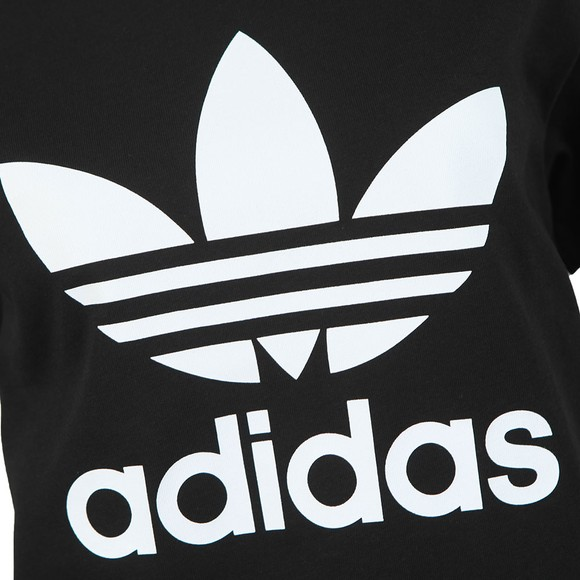 adidas Originals Womens Black Boyfriend Tee