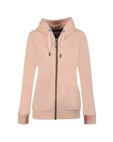 Superdry Womens Pink OL Elite Zip Hoody