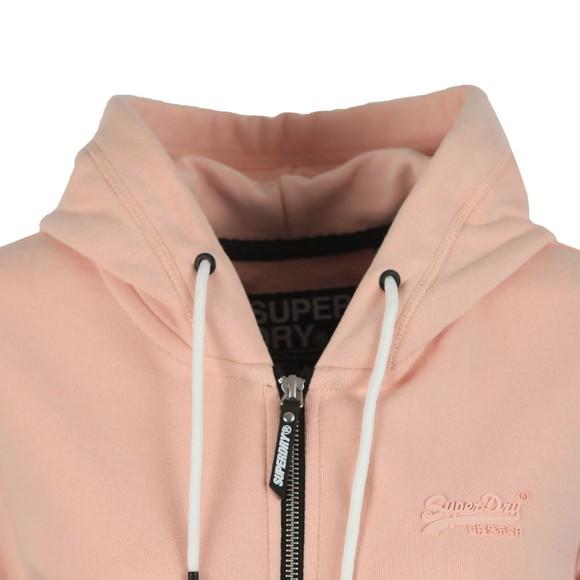 Superdry Womens Pink OL Elite Zip Hoody