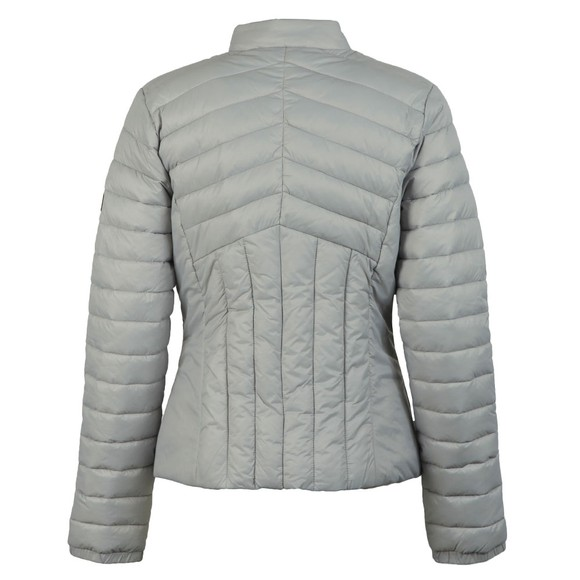 Barbour International Womens Grey Keeper Quilt