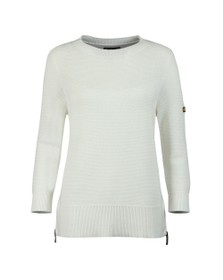 Barbour International Womens Off-White Apex Knit