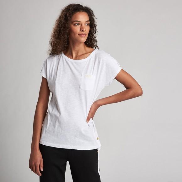 Barbour International Womens White Apex Top main image