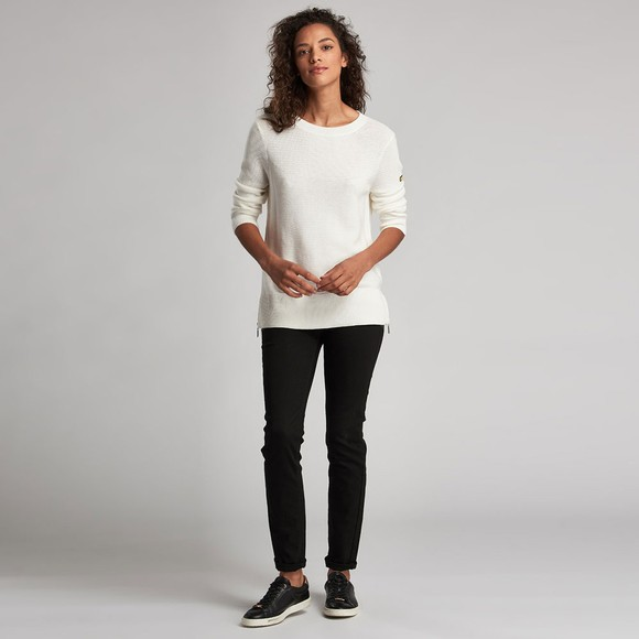 Barbour International Womens Off-White Apex Knit main image