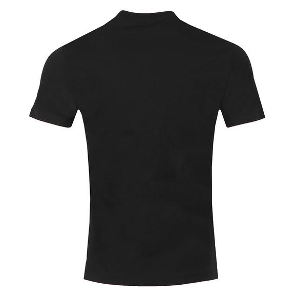Emporio Armani Mens Black The Eagle Brand T Shirt main image