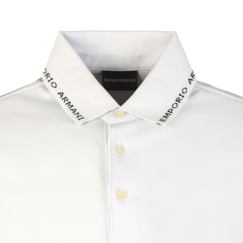 Branded Collar Polo Shirt main image