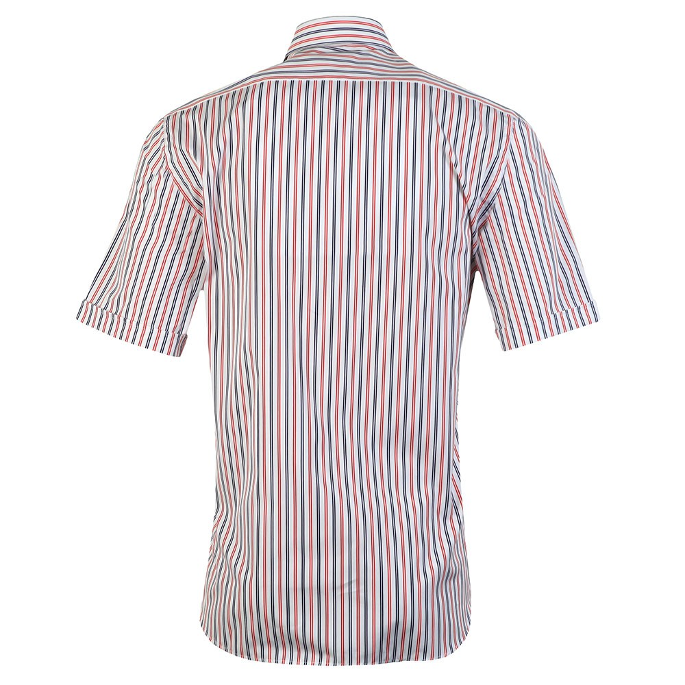 Stripe Button Down Short Sleeve Shirt main image