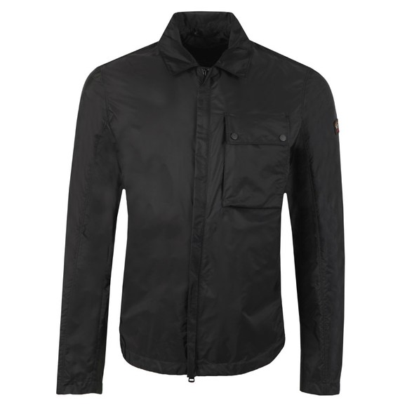 Paul & Shark Mens Black Nylon Overshirt