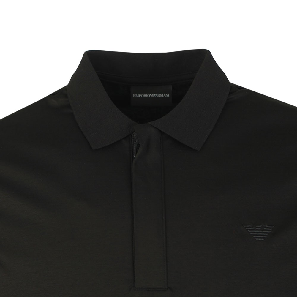 Pima Cotton Zip Polo Shirt main image