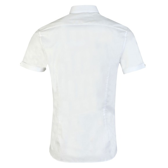 Ted Baker Mens White S/S Oxford Shirt main image