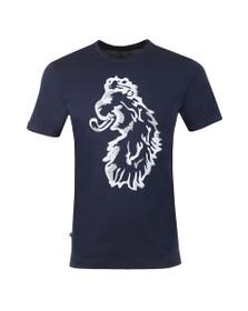 Luke Sport Mens Blue Amazing Flocker T-Shirt