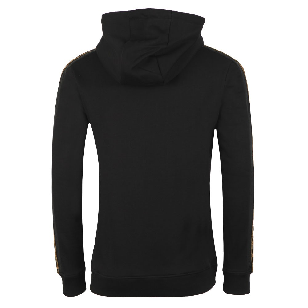 Nylon Panel Zip Through Hoodie main image
