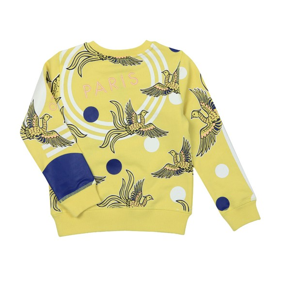 Kenzo Kids Girls Yellow Julia Phoenix Celebration Sweatshirt