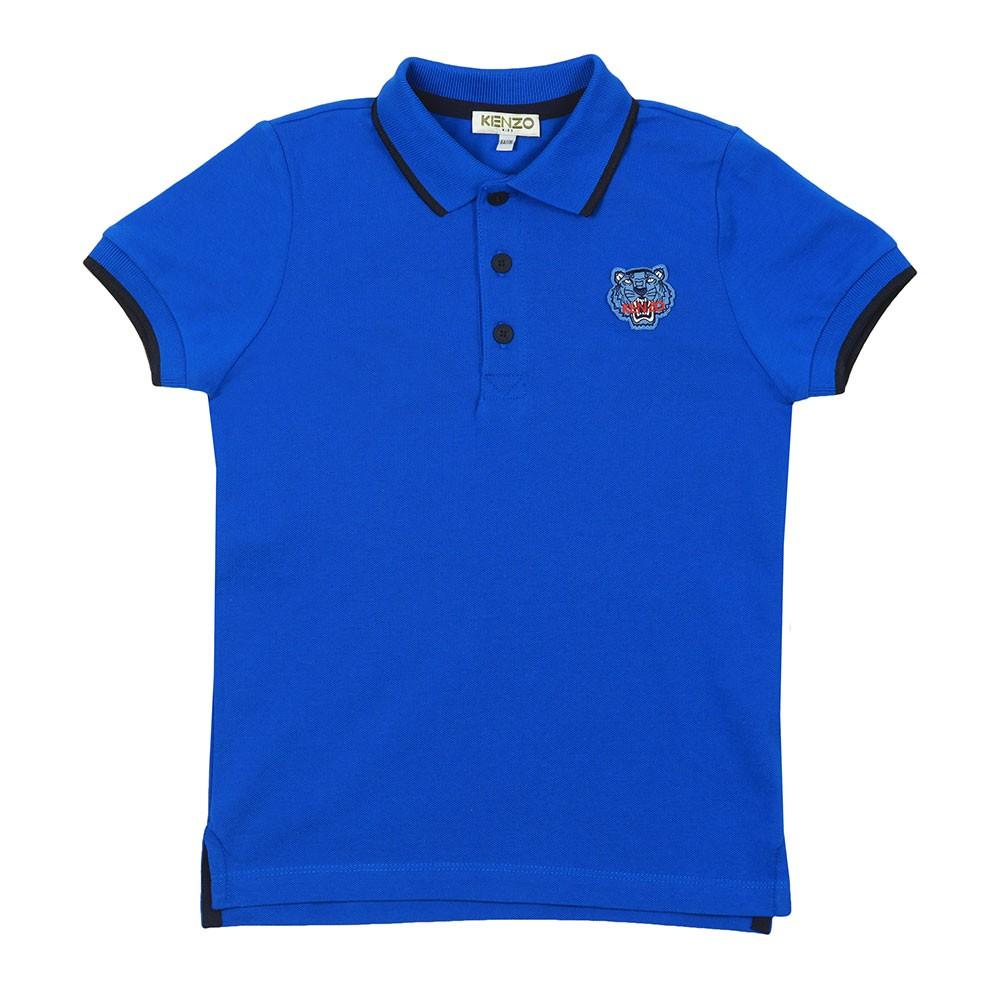 Tipped Tiger Logo Polo Shirt main image