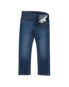 Tommy Hilfiger Kids Boys Blue 1985 Straight Fit Jean
