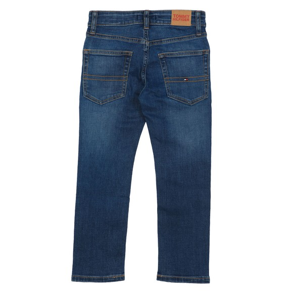 Tommy Hilfiger Kids Boys Blue 1985 Straight Fit Jean