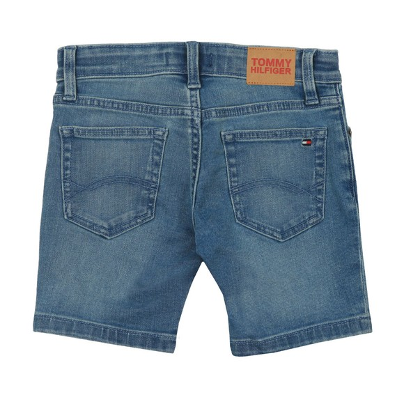 Tommy Hilfiger Kids Boys Blue Steve Denim Shorts