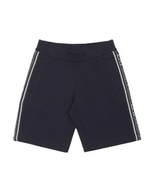 EA7 Emporio Armani Boys Blue Tape Side Jersey Short