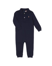Polo Ralph Lauren Boys Blue Jersey Coverall