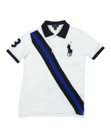 Polo Ralph Lauren Boys White KC Polo Shirt